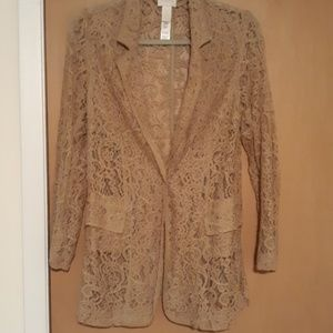 lace blazer...absolutely stunning!!